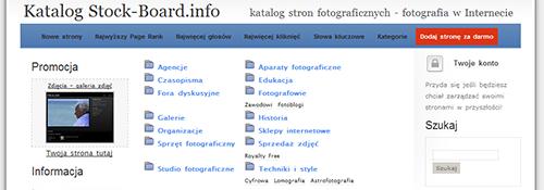 katalog stron fotograficznych