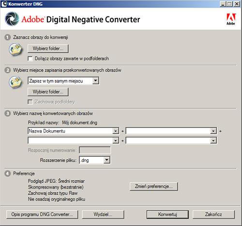 digital negative converter