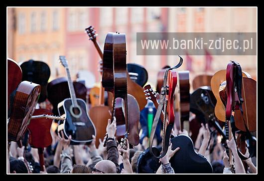 gitarowy rekord guinessa wrocław 2009 zdjęcia