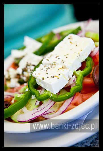 sałatka grecka - kuchnia śródziemnomorska