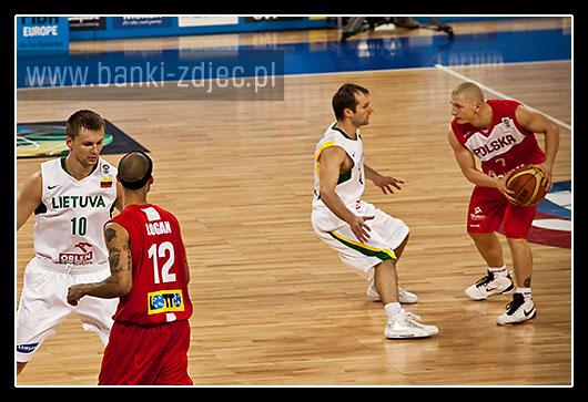 zdjęcia eurobasket polska litwa